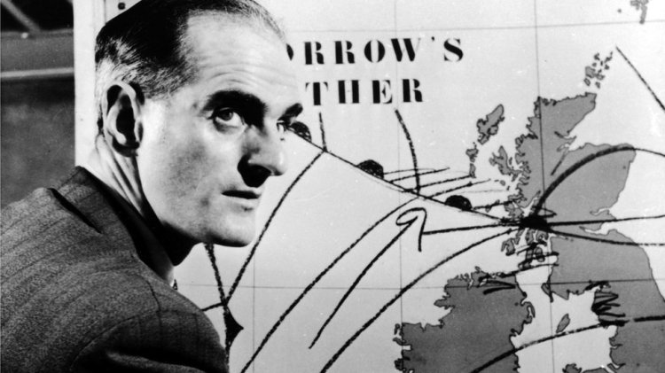 First televised weather forecast